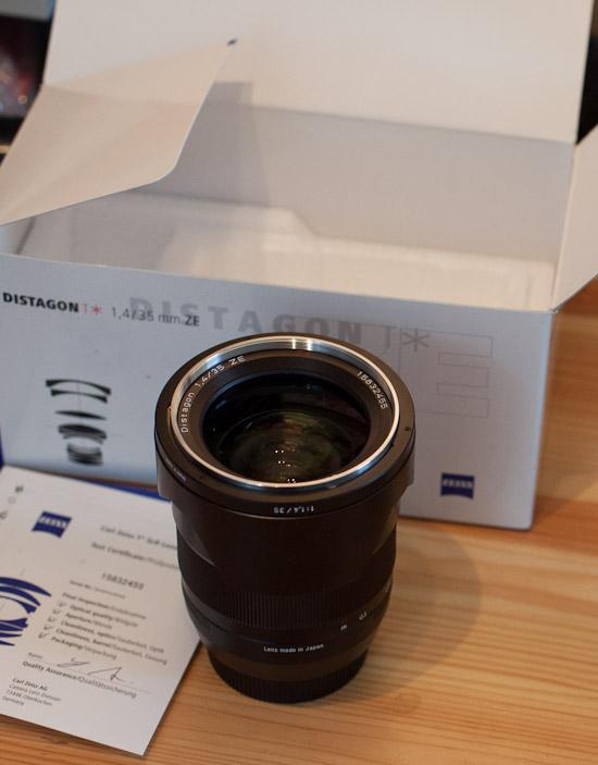Carl Zeiss Distagon T* 35mm 1:1.4 ZE (für Canon)
