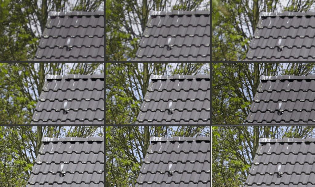 Canon 5D MKII mit Canon EF 50mm f/1.4 USM (Blende 1.4 bis 16; Bild ganz links oben)