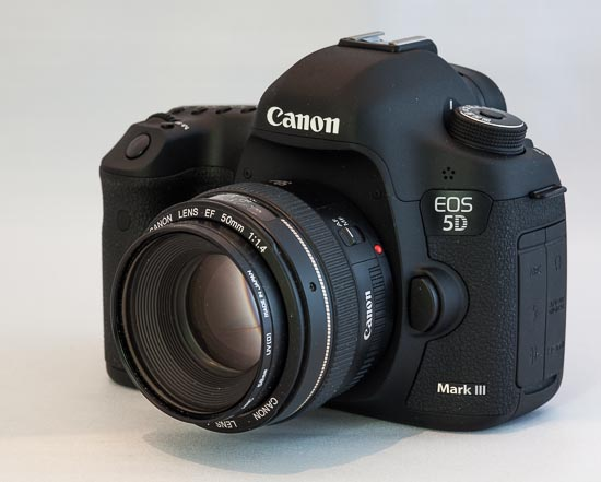 Canon EOS 5D Mark III mit Canon EF 50mm f/1.4