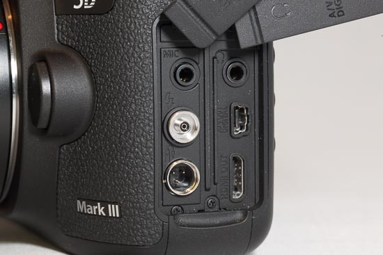 Canon EOS 5D Mark III - Externe Anschlüsse