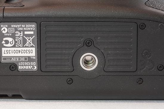 Canon EOS 5D Mark III - Stativgewinde-Platte
