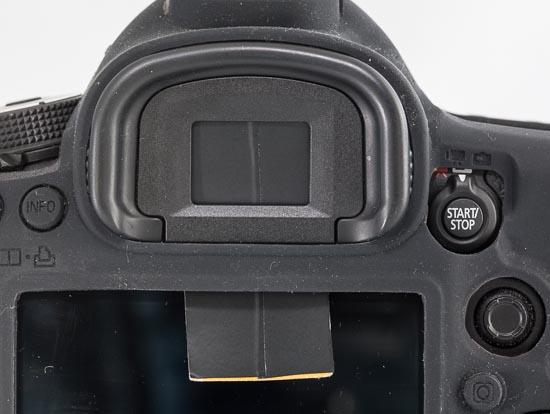 Canon EOS 5D Mark III - selbstgebastelte Okularabdeckung