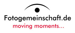 Fotogemeinschaft.de – moving moments… Logo