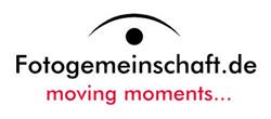 Fotogemeinschaft.de – moving moments… Logo